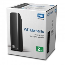 "Ổ cứng GN WD Elements 3.5"" USB 3.0 2TB - WDBWLG0020HBK"