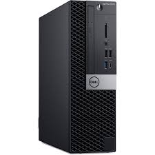 Máy tính đồng bộ Dell OptiPlex 5070 SFF 42OT570002 Core i7 9700, DDR4 8G, 1TB, HD Graphics 610/630, DVDRW, Key + Mouse, Port: RJ 45, 2 DP ,HDMI